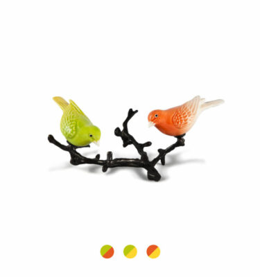 Laboratório D'Estórias | The Canaries of Atlantis Coloured – Luxury Home Decorative Accessories| Buy Online | Orpheu Decor