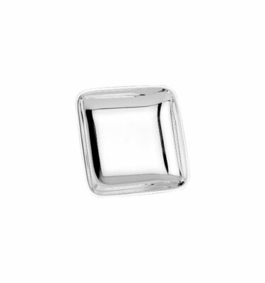 Topázio | Square Bomboniere Silver - Luxury Home Decor & Accessories | Buy Online | Orpheu Decor