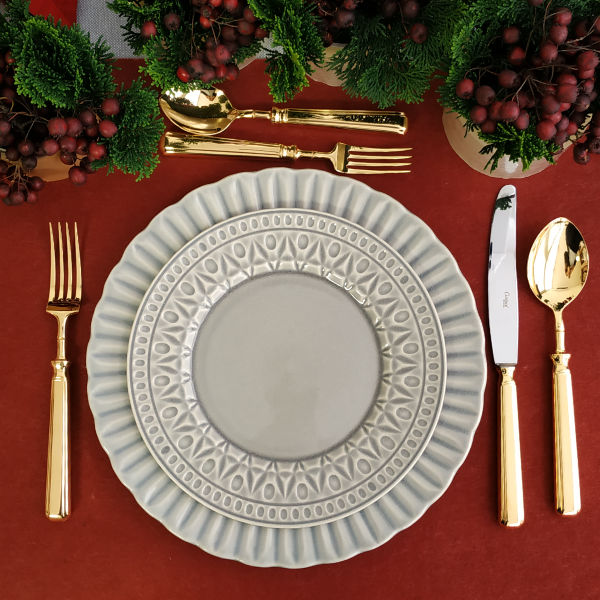 cristal dinner set christmas orpheudecor