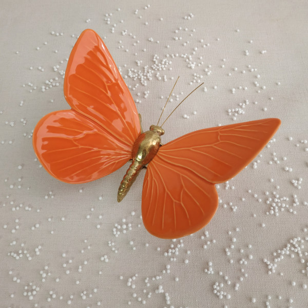 Buy Hope in Butterfly Life, Orange - Laboratório d'Estórias – Orpheu Decor