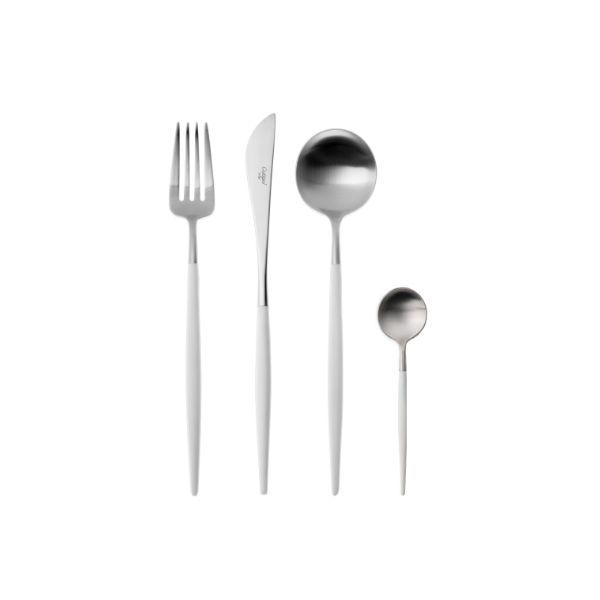 Cutipol | Goa Cutlery Set, Matte – Designer Cutlery & Luxury Tableware | Buy Online | Orpheu Decor