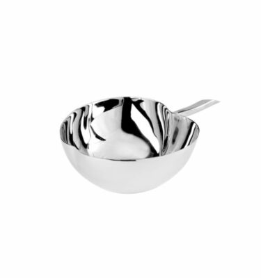 Topázio | Big Apple Bomboniere Silver Plated - Luxury Home Decor & Accessories | Buy Online | Orpheu Decor