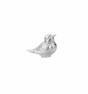 Topázio | Bird Pepper Shaker Silver Plated - Silver Tableware & Luxury Dinnerware Sets | Buy Online | Orpheu Decor