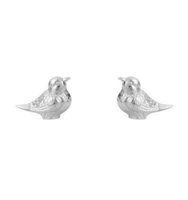 Topázio | Bird Salt & Pepper Shaker Silver Plated - Silver Tableware & Luxury Dinnerware Sets | Buy Online | Orpheu Decor