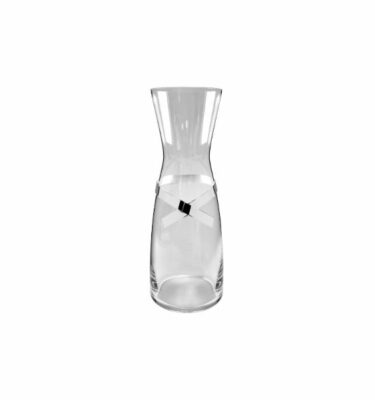 Topázio | Laço Glass Pitcher Silver Plated - Silver Barware & Luxury Dinnerware Sets | Buy Online | Orpheu Decor