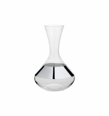 Topázio | Skirt Decanter Silver Plated - Silver Barware & Luxury Dinnerware Sets | Buy Online | Orpheu Decor