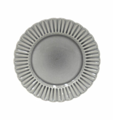 Costa Nova | Cristal Dinner Plate Crackled Grey 6 Units - Fine Stoneware | Buy Online | Orpheu Decor