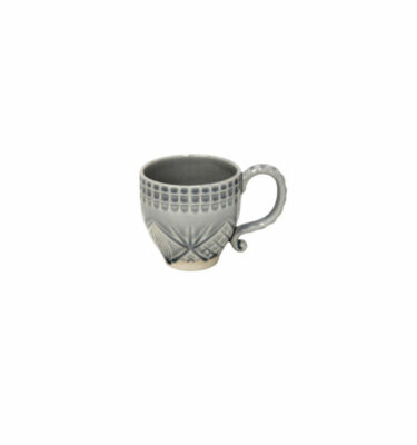 Costa Nova | Cristal Mug Crackled Grey 6 Units - Fine Stoneware | Buy Online | Orpheu Decor