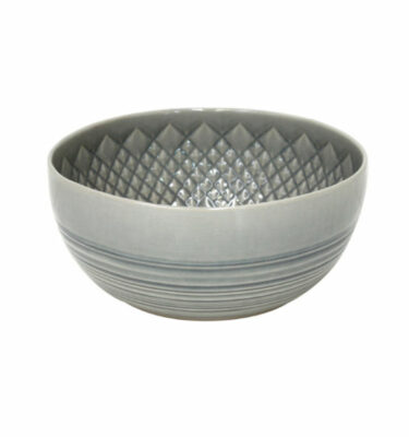 Costa Nova | Cristal Salad Bowl Crackled Grey - Fine Stoneware | Buy Online | Orpheu Decor