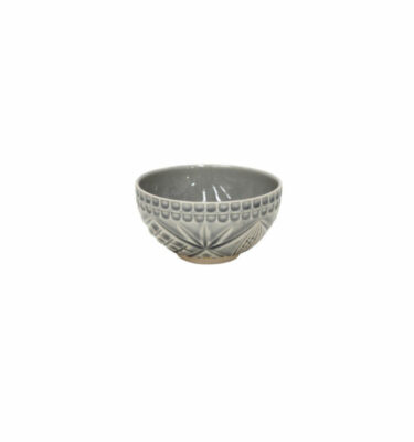Costa Nova | Cristal Soup/Cereal/Fruit Bowl, Crackled Grey - 6 units - Fine Stoneware | Buy Online | Orpheu Decor