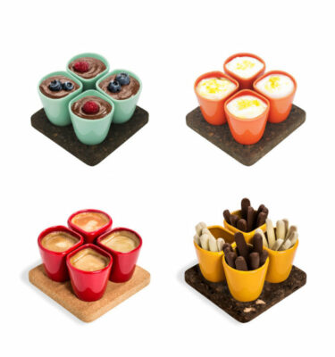 Dedal | 1.0 Coffee Cups - Mini Dessert Copus - Designer Tableware | Buy Online | Orpheu Decor