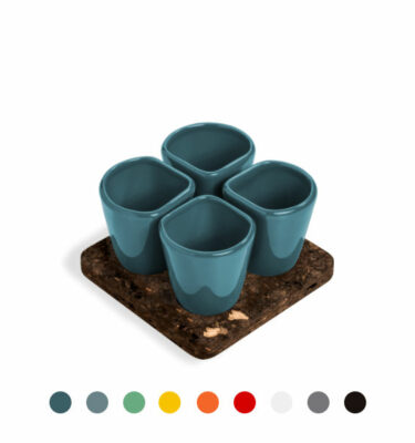 Dedal | 1.0 Mini Coffee/Dessert Cups - Designer Tableware | Buy Online | Orpheu Decor