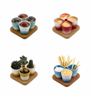 Dedal | 3.0 Coffee Cups - Mini Dessert Copus - Designer Tableware | Buy Online | Orpheu Decor