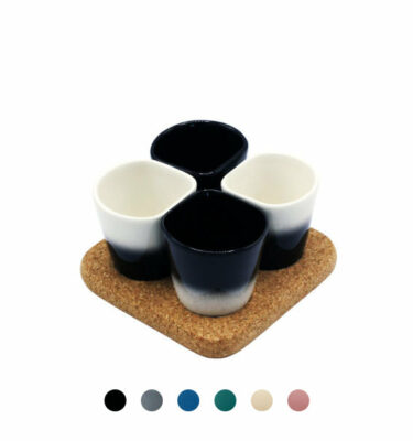 Dedal - 3.0 Mini Coffee/Dessert Cups: Designer Tableware - Orpheu Decor