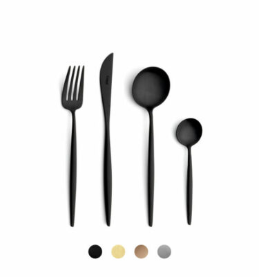 Cutipol | Moon Cutlery Set, 5-130 Contemporary Pieces | Orpheu Decor