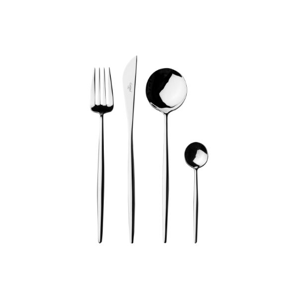 Cutipol | Moon Cutlery Set, 5-130 Pieces – Designer Cutlery & Luxury Tableware| Buy Online | Orpheu Decor