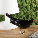 Laboratório D'estórias | A Blackbird Natural Brass - Ornaments & Figurines | Buy Online | Orpheu Decor