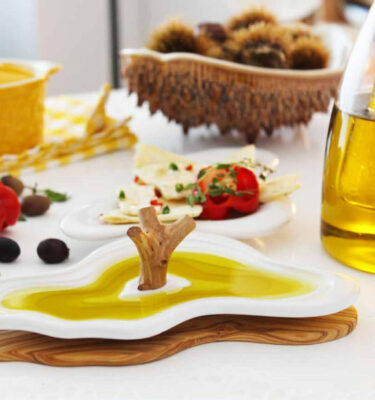 Laboratório D'estórias | Mount of Olives Olive Oil Tasting Dish | Buy Online | Orpheu Decor