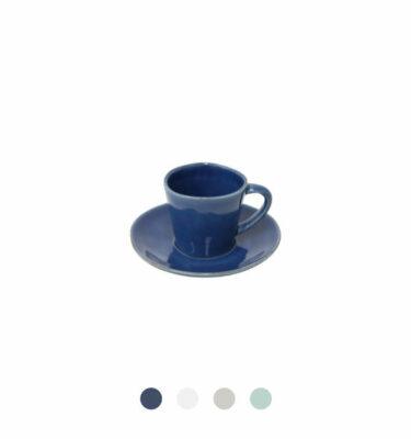 Costa Nova | Nova Coffee Cup & Saucer 6 Sets - Fine Stoneware | Buy Online | Orpheu Decor