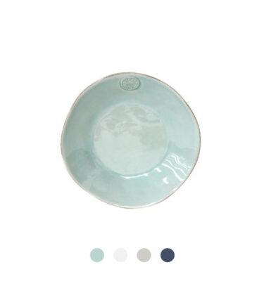 Costa Nova | Nova Soup/Pasta Plate 6 units - Fine Stoneware | Buy Online | Orpheu Decor
