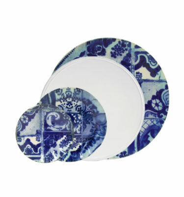 Costa Nova | Lisboa Plates 24 Pieces Set - Fine Stoneware | Buy Online | Orpheu Decor