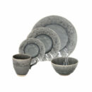 Costa Nova | Madeira Dinnerware Set, Grey Fine Stoneware | Buy Online | Orpheu Decor