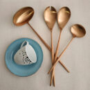 Cutipol | Moon Cutlery Set, Matte | Soup Ladle; Salad Serving Set; Gravy Ladle | Buy Online | Orpheu Decor