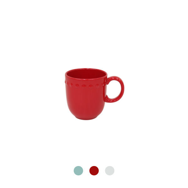 Costa Nova | Pearl Mug - 6 units - Fine Stoneware | Buy Online | Orpheu Decor