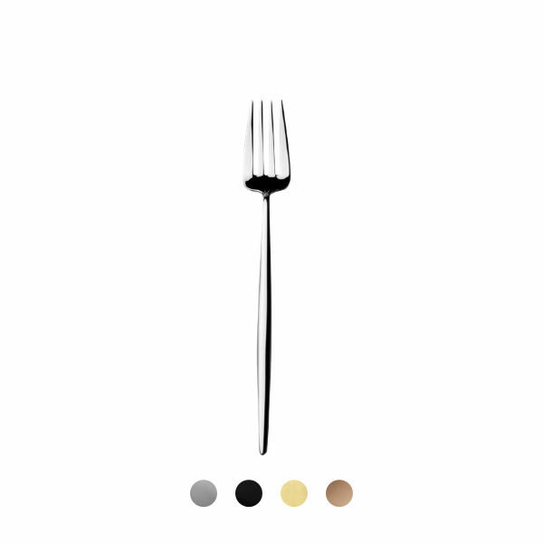 Cutipol | Moon Carving Fork – Designer Cutlery & Luxury Tableware| Buy Online | Orpheu Decor