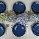 Costa Nova | Nova Dinnerware Set, Blue - Fine Stoneware | Buy Online | Orpheu Decor