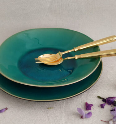 Costa Nova | Riviera Soup/Pasta Plate, Turquoise | Buy Online | Portugal | Orpheu Decor
