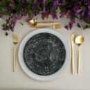 Costa Nova & Cutipol | Roda Plates & Moon Matte Gold | Buy Online | Portugal | Orpheu Decor