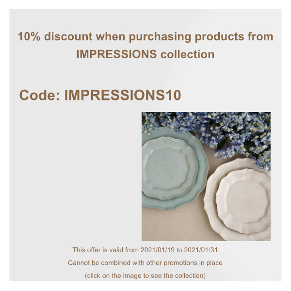 impressions discount january