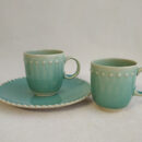 Costa Nova | Pearl Mug, Aqua | Buy Online | Portugal | Orpheu Decor