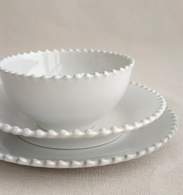 Costa Nova | Pearl Soup/Cereal/Fruit Bowl, White | Buy Online | Portugal | Orpheu Decor