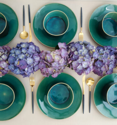 Costa Nova | Riviera, Turquoise - Dinner Plate, Soup, Cereal, Fruit Bowl - Buy Online | Orpheu Decor