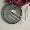 Buy Cutipol Athena, Polished Steel - Dinner Fork, Knife, Table Spoon, Fish Fork, Knife - Orpheu Decor