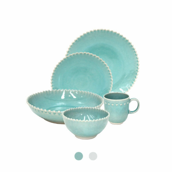 Buy Costa Nova Pearl Dinnerware Set, 30 Pieces - Orpheu Decor