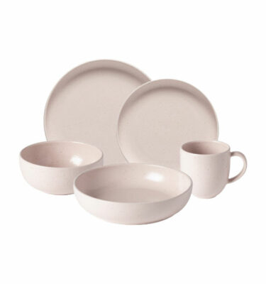 Buy Casafina Pacifica Place Setting, 5 Pieces, Pink - Orpheu Decor