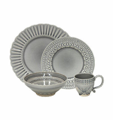 Buy Costa Nova Cristal Place Setting, 4 Pieces - Orpheu Decor