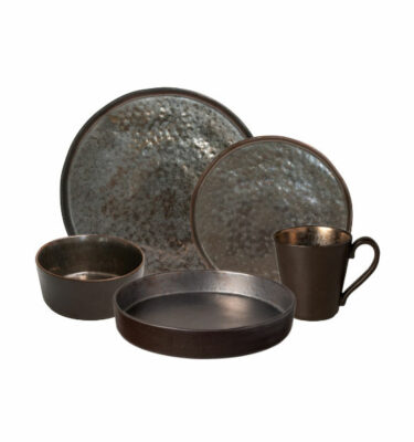 Buy Costa Nova Lagoa Place Setting, 5 Pieces, Metal - Orpheu Decor