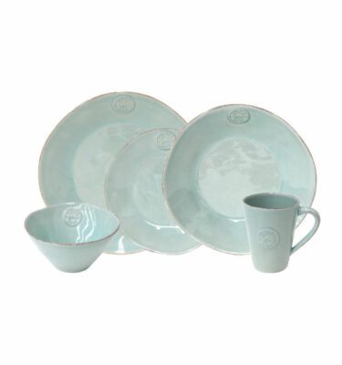 Buy Costa Nova Nova Place Setting, 5 Pieces, Turquoise - Orpheu Decor