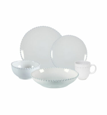 Buy Costa Nova Pearl Place Setting, 5 Pieces, Turquoise - Orpheu Decor
