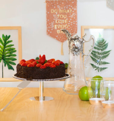 Contas Cake Stand, Silver Plated by Topázio? Buy at Orpheu Decor!