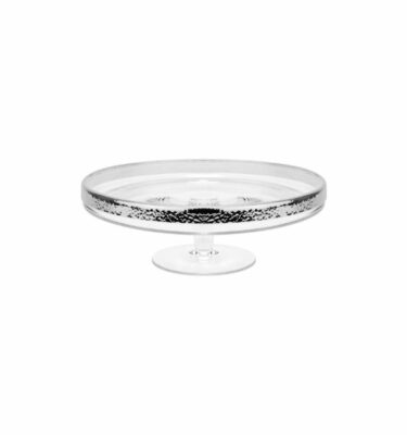 Hammered Cake Stand, Silver Plated by Topázio? Buy at Orpheu Decor!